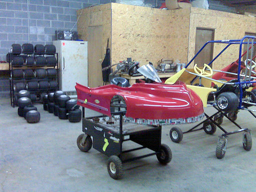 Fast Action Motorsports has a great selection of used karts too !